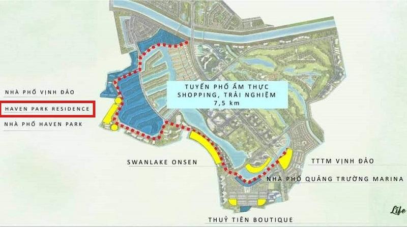 Kết nối Haven Park Residences Ecopark