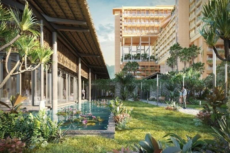 Không gian xanh dự án Apec Kim Bôi - Hòa Bình Mandala Hot Spring Retreat