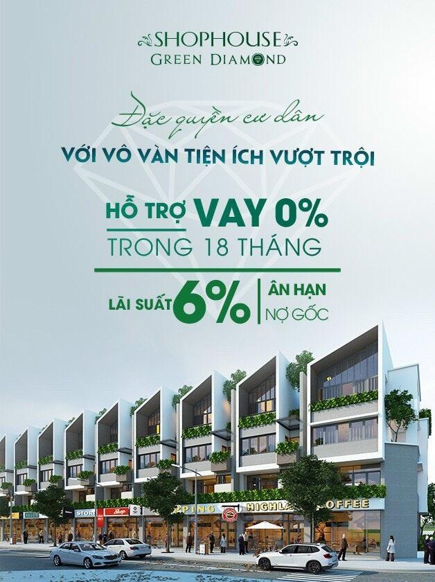 Liền kề - Shophouse Green Diamond Hạ Long Handico 6