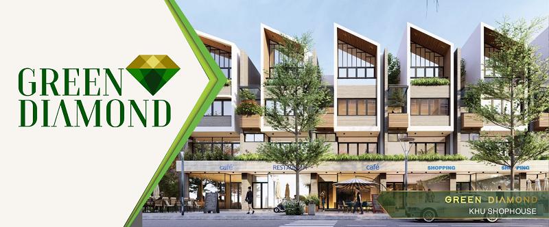Mở bán dự án Liền kề - Shophouse Green Diamond Hạ Long Handico 6