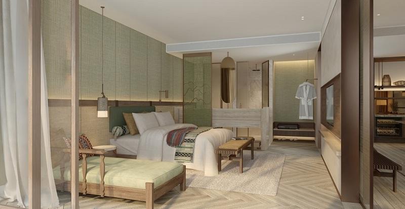 Nội thất căn hộ dự án Apec Mandala Kim Bôi - Hòa Bình