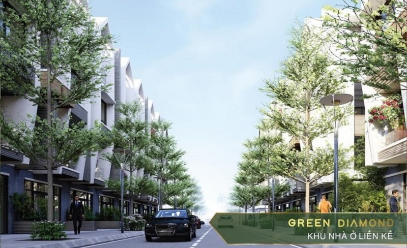 Phối cảnh Liền kề - Shophouse Green Diamond Hạ Long Handico 6