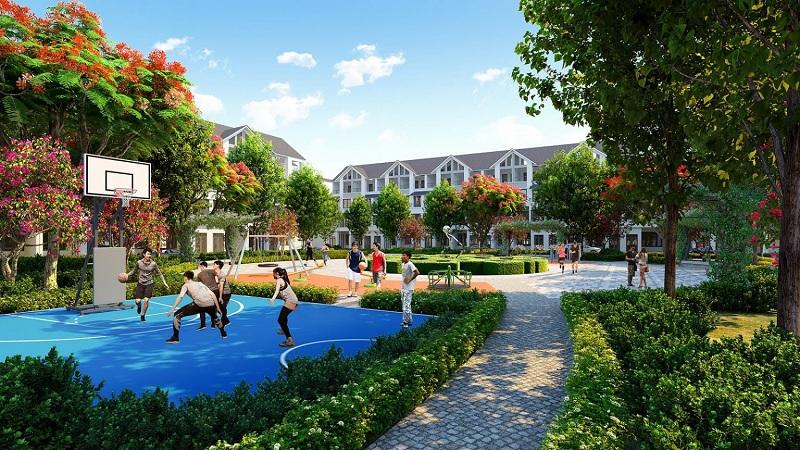 Sân thể thao dự án Eurowindow Twin Parks Trâu Quỳ - Gia Lâm