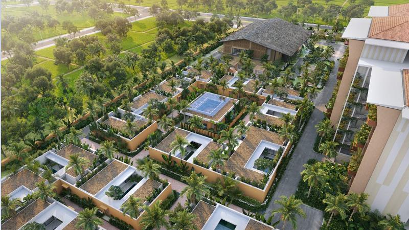 Thiết kế biệt thự dự án Apec Mandala Kim Bôi - Hòa Bình