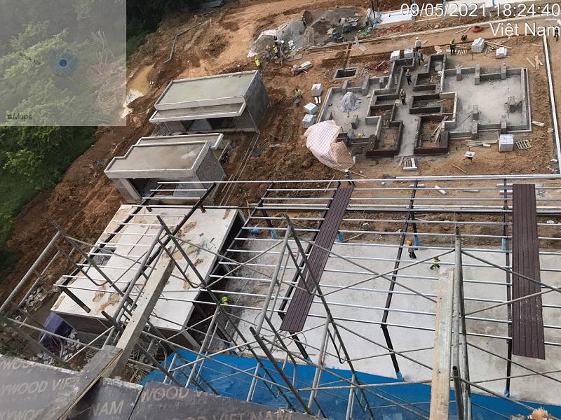 Tiến độ xây dựng 2 dự án Apec Mandala Kim Bôi - Hòa Bình