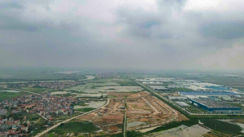 Flycam An Bình Vọng Đông Central Park Yên Phong - Bắc Ninh