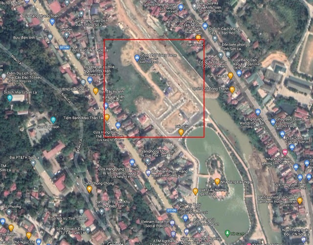 Flycam vị trí dự án TNR Grand Palace Nậm La - Sơn La