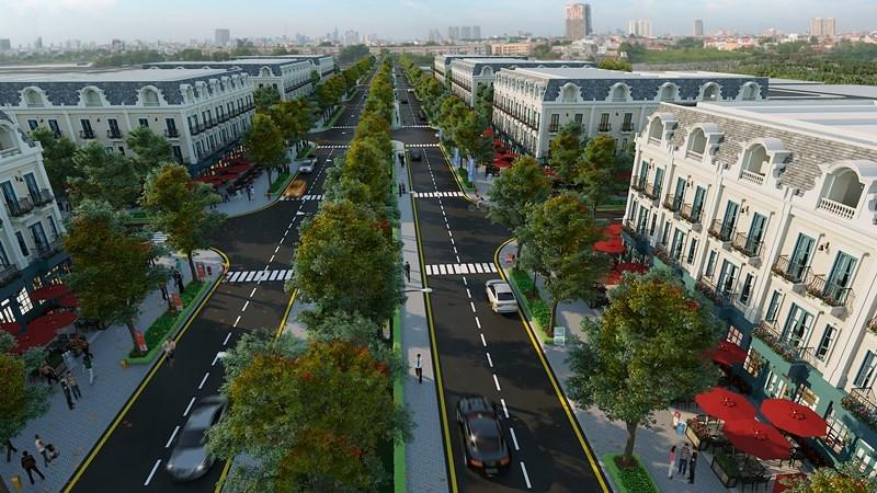 Hạ tầng giao thông Opus One Lạc Trung - Uông Bí