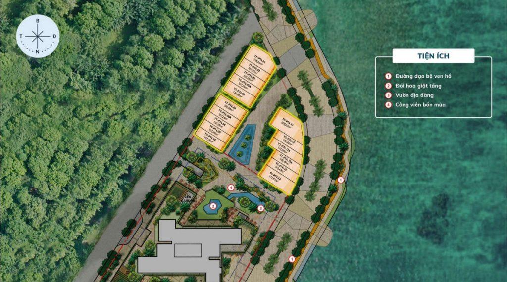 Mặt bằng nhà phố Vịnh Đảo dự án nhà phố Haven Park Ecopark