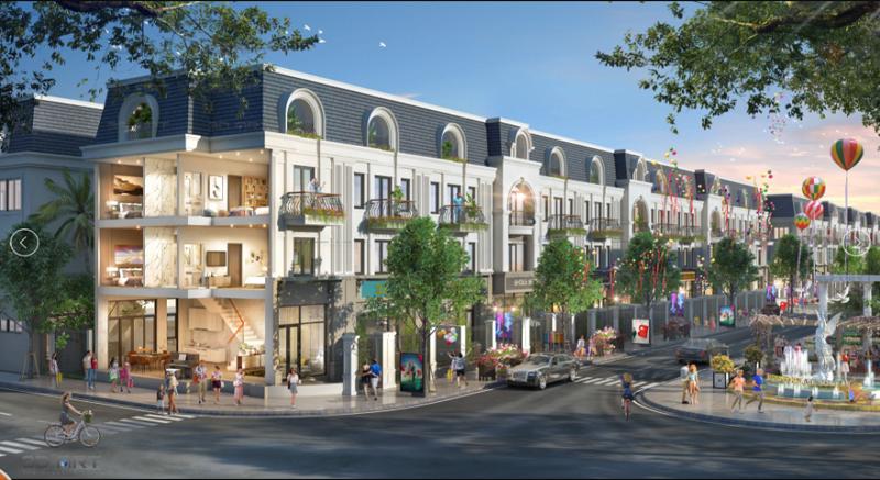 Nhà phố dự án TNR Grand Palace Nậm La - Sơn La