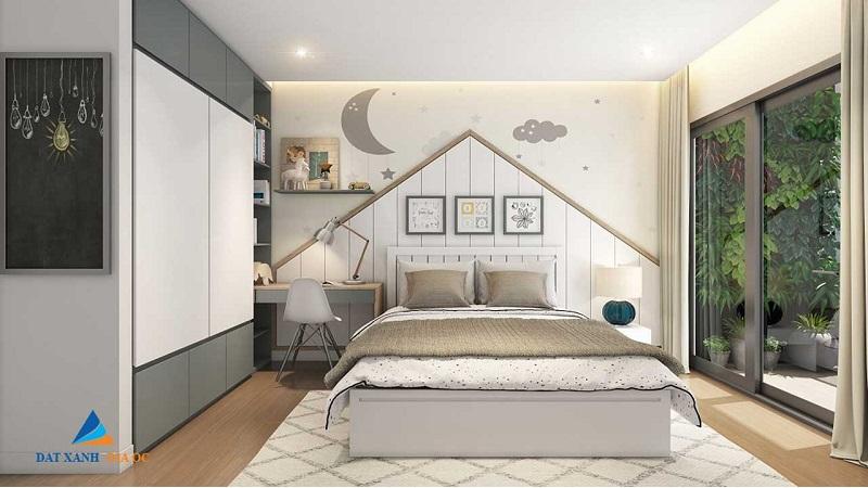 Nội thất phòng ngủ Eco Smart City Cổ Linh - Long Biên