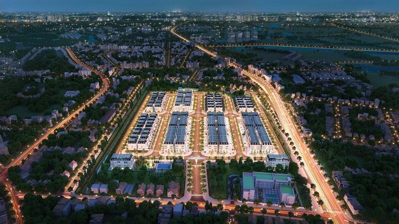 Phối cảnh 2 dự án Central City Lạc Trung - Uông Bí