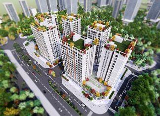 Phối cảnh 2 Eco Smart City Cổ Linh - Long Biên