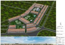 Phối cảnh An Bình Vọng Đông Central Park Yên Phong - Bắc Ninh