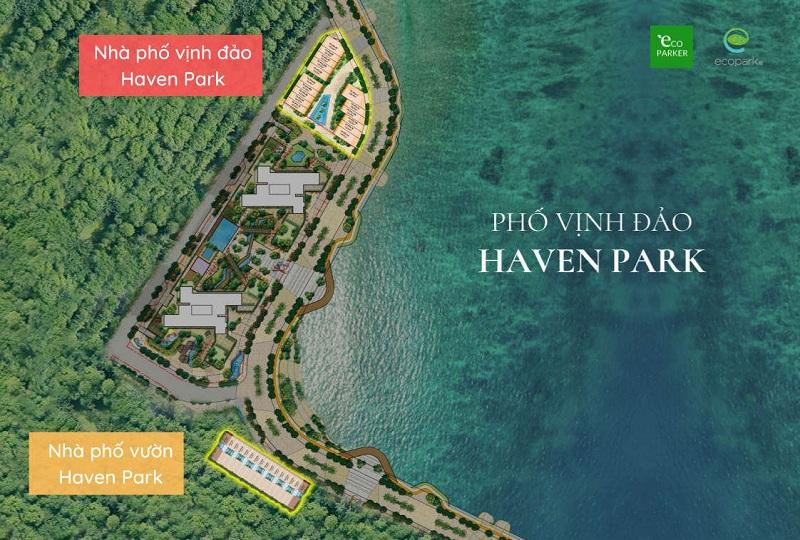 Quy hoạch dự án nhà phố Haven Park Ecopark