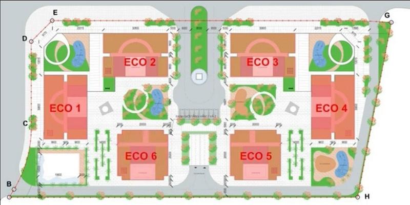 Quy mô Eco Smart City Cổ Linh - Long Biên