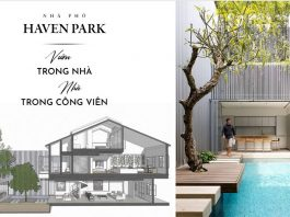 Thiết kế 3D nhà phố Haven Park Ecopark