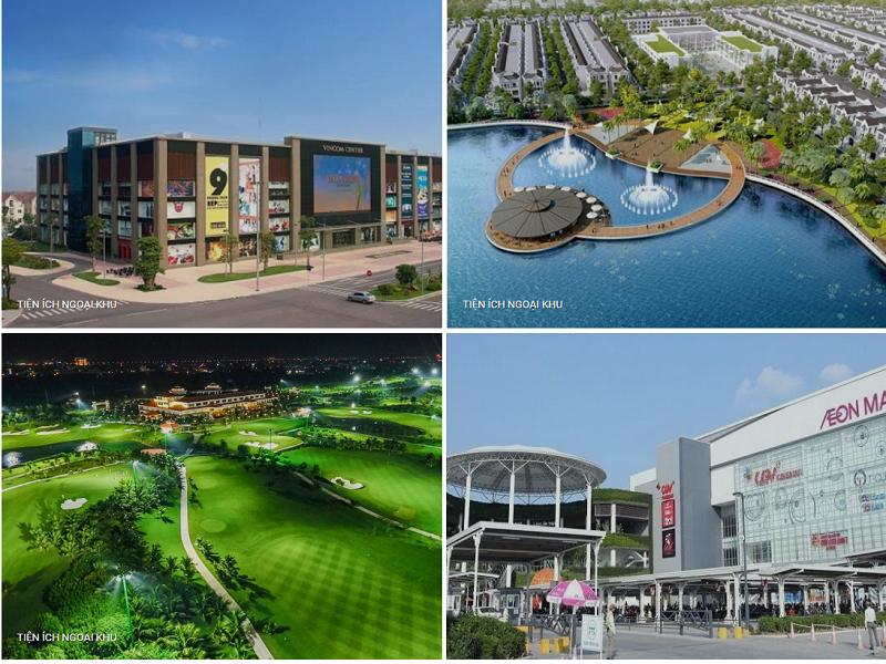 Tiện ích ngoại khu Eco Smart City Cổ Linh - Long Biên