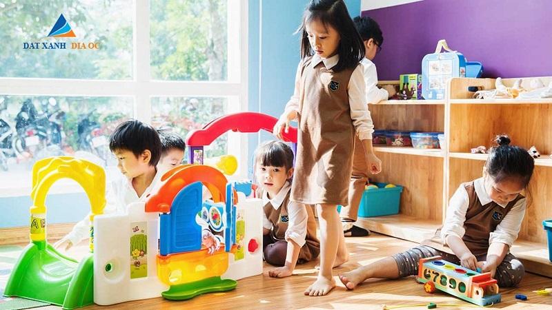 Tiện ích nhà trẻ Eco Smart City Cổ Linh - Long Biên