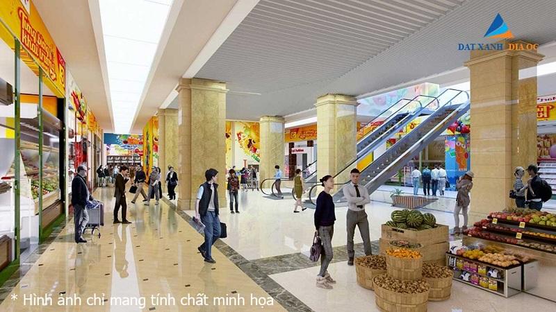 Trung tâm thương mại Eco Smart City Cổ Linh - Long Biên