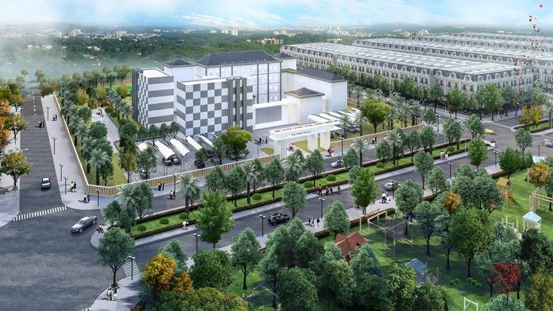 Trường học Opus One Lạc Trung - Uông Bí