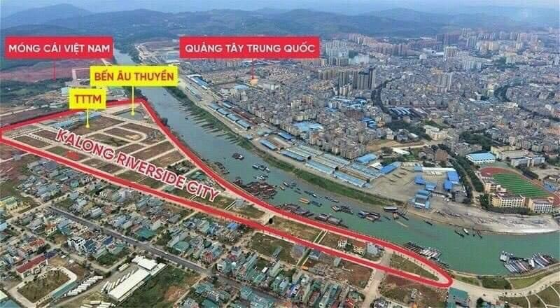 Flycam thực tế Royal Riverside City Ka Long - Móng Cái