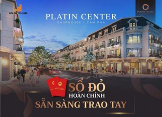 Banner Shophouse Platin Center Cẩm Phả