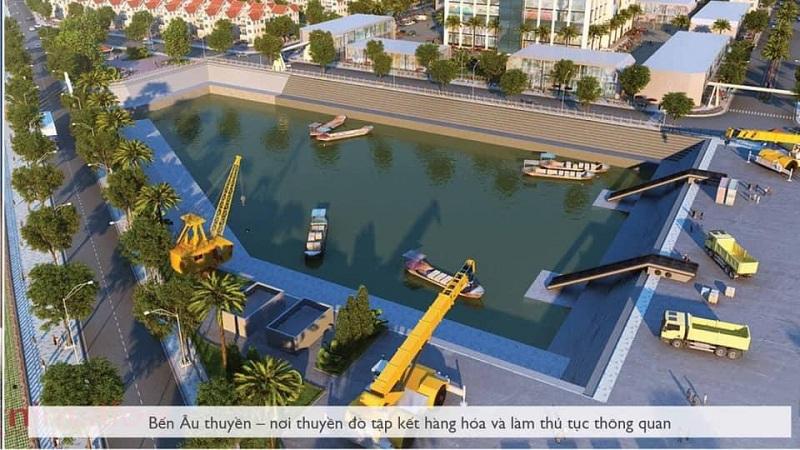 Bến âu thuyền Royal Riverside City Móng Cái - Kalong Riverside