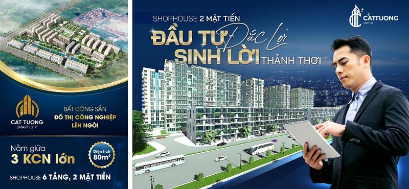 Chính thức mở bán dự án Shophouse Cát Tường Smart City Yên Phong