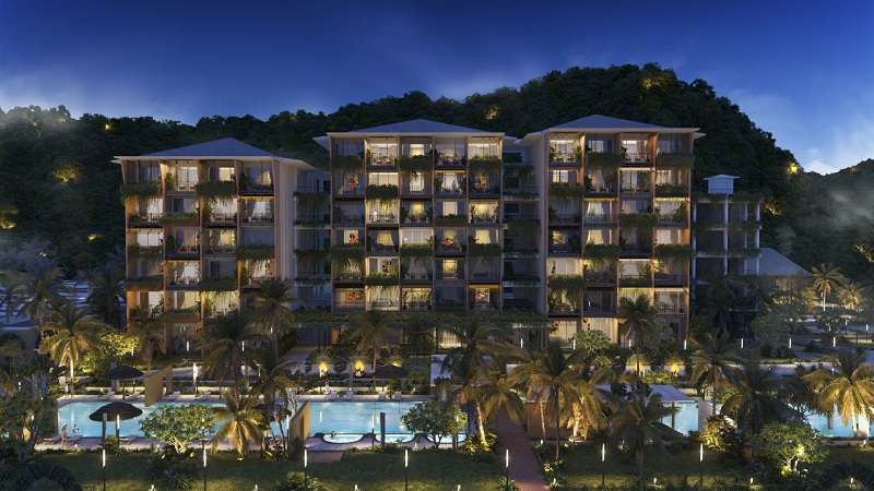 Condotel dự án Apec Mandala Sky Villas Kim Bôi - Hòa Bình