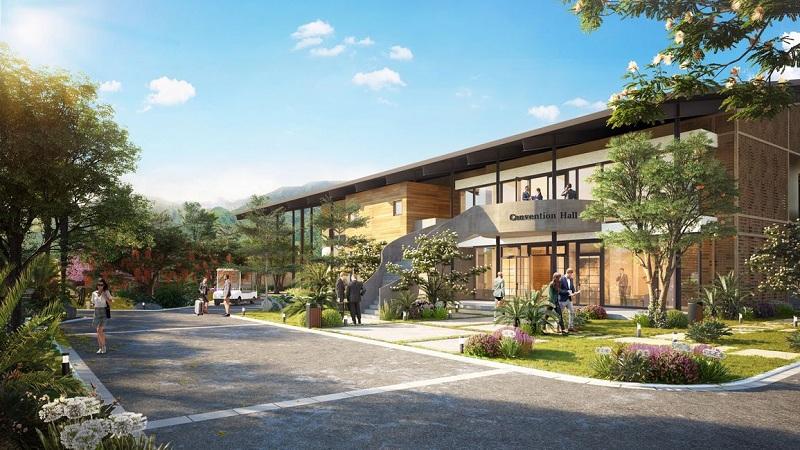 Convention Hall dự án Apec Mandala Sky Villas Kim Bôi - Hòa Bình