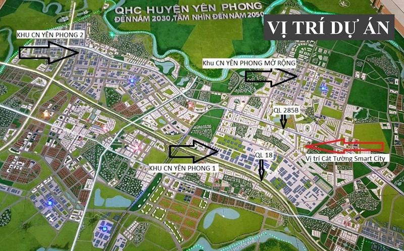 Kết nối Cát Tường Smart City Yên Phong - Bắc Ninh