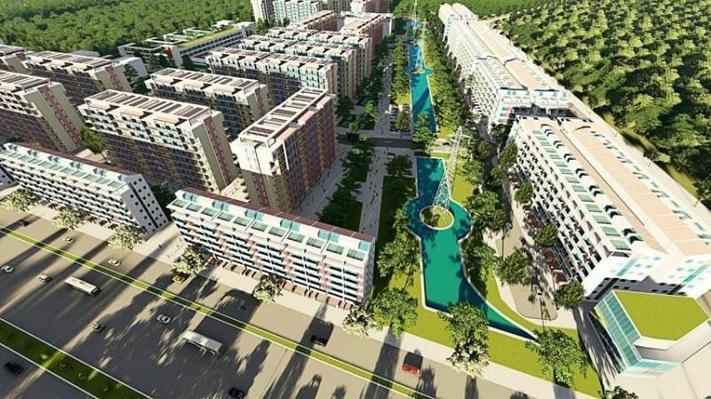 Phối cảnh 2 Cát Tường Smart City Yên Phong - Bắc Ninh