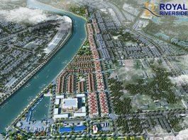 Phối cảnh Royal Riverside City Ka Long - Móng Cái
