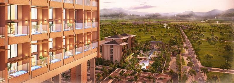 Tầm view tuyệt đẹp dự án Apec Mandala Sky Villas Kim Bôi - Hòa Bình