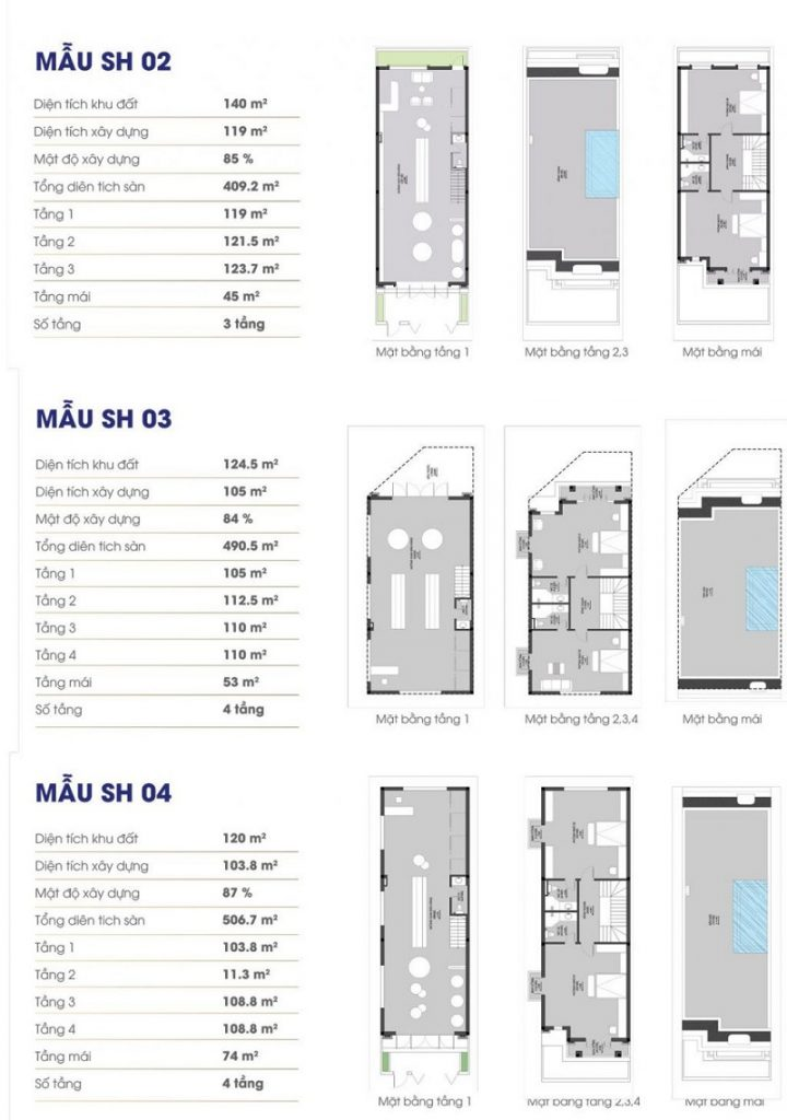 Thiết kế chi tiết Shophouse Royal Riverside City Ka Long - Móng Cái