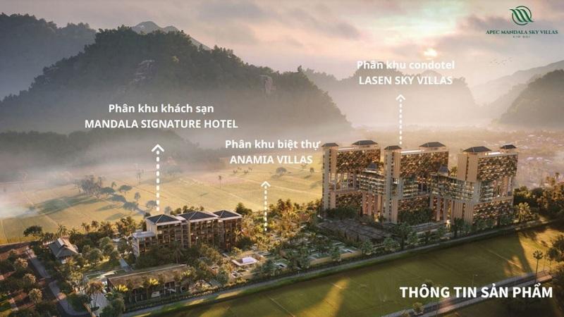 Tổng mặt bằng dự án Apec Mandala Sky Villas Kim Bôi - Hòa Bình