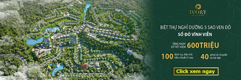 Mở bán biệt thự nghỉ dưỡng Ivory Villas & Resort Hoà Bình 2