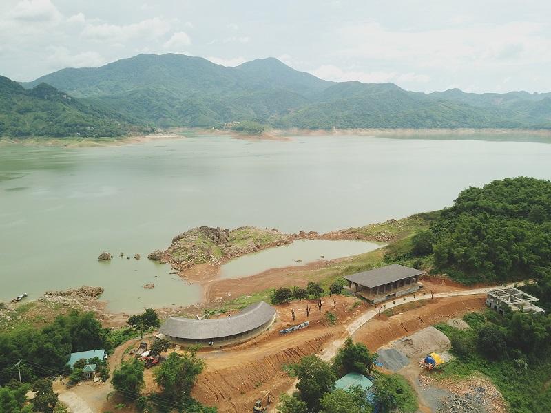 Ảnh thực tế 1 công trường dự án Cullinan Resort Hòa Bình
