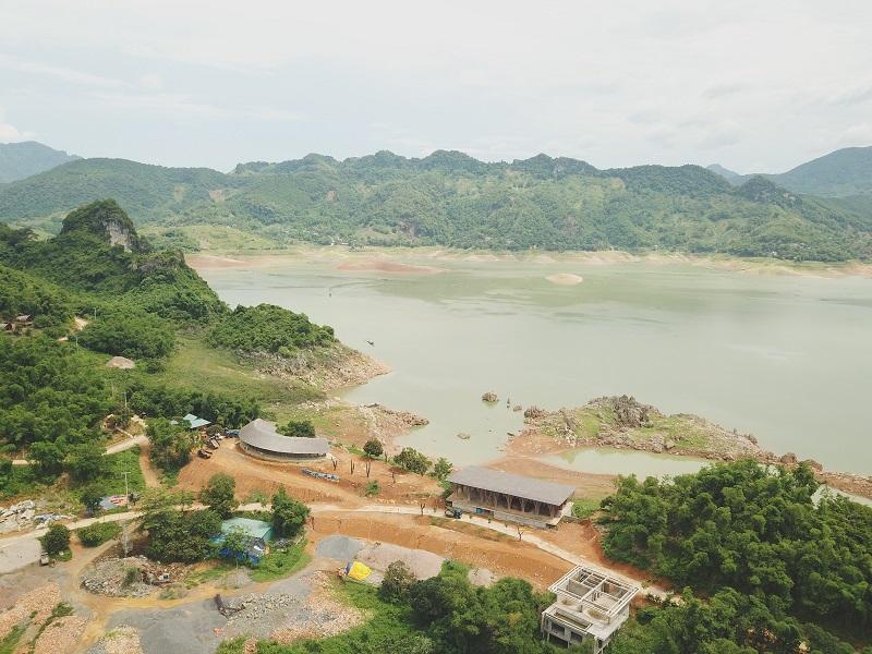 Ảnh thực tế 4 công trường dự án Cullinan Resort Hòa Bình