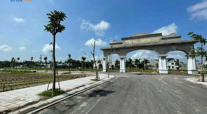 Cổng chào Tiền Hải Center City - Trái Diêm 3 Thái Bình
