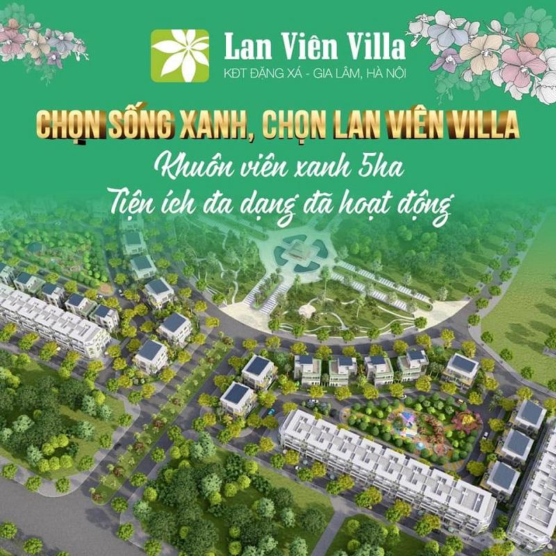 Mở bán dự án Biệt thự 1 Lan Viên Villa Đặng Xá - Gia Lâm