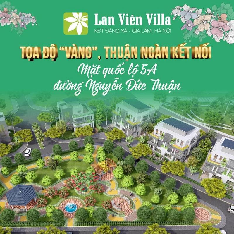 Mở bán dự án Biệt thự 2 Lan Viên Villa Đặng Xá - Gia Lâm