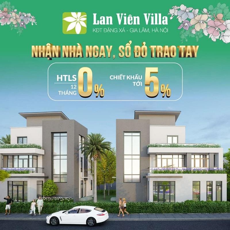 Mở bán dự án Biệt thự 3 Lan Viên Villa Đặng Xá - Gia Lâm