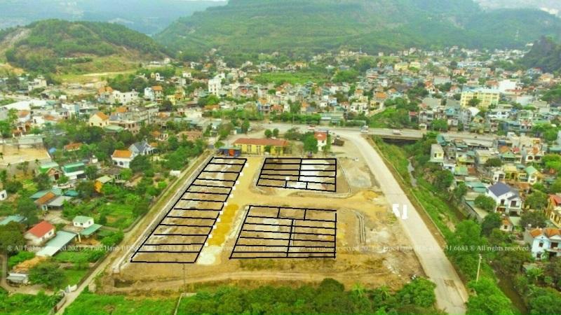 Flycam ảnh thực tế Hà Phong Fairy City Hạ Long