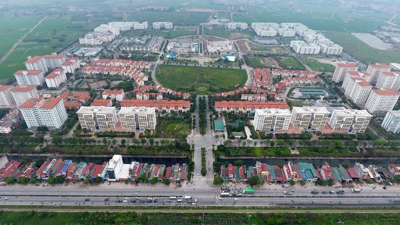 Flycam khu đô thị Đặng Xá - Gia Lâm