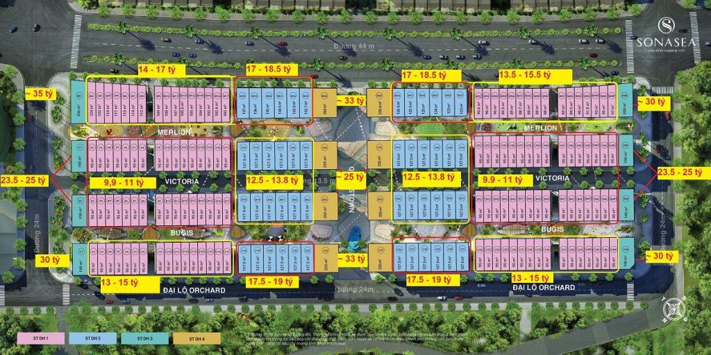Khoảng giá Singapore Shoptel Sonasea Harbor City Vân Đồn - CEO Group