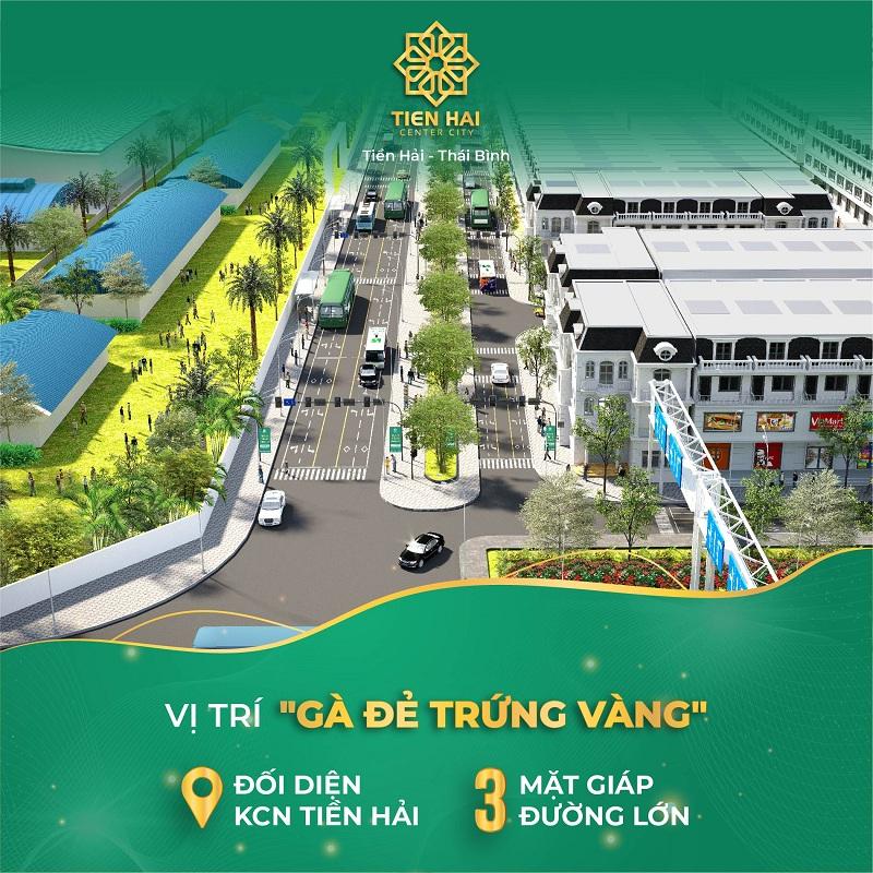 Mở bán dự án Tiền Hải Center City Thái Bình