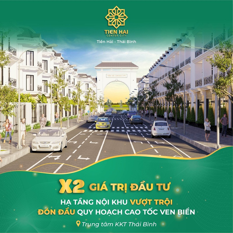 Mở bán dự án Tiền Hải Center City Thái Bình 2