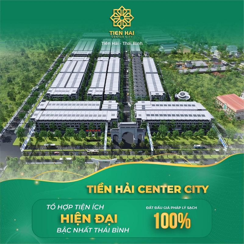 Mở bán dự án Tiền Hải Center City Thái Bình 3